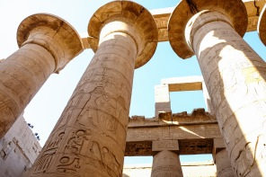 Hypostyle Hall in the Temple of Karnak.