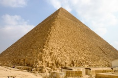 The Great Pyramid of Khufu.