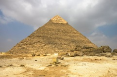 Khafre's Pyramid.