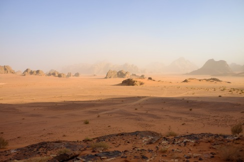 The desert where the Martian was filmed.
