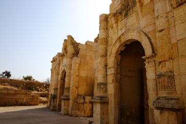 Another city gate to Jerash.