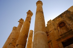 Columns still standing.