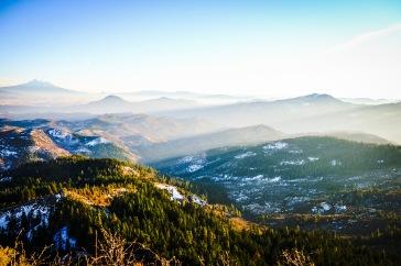 Mt. Shasta in the left-hand corner.