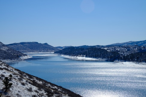 Horsetooth mountain area