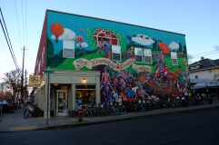 Just a cute bike shop around the corner from Great Notion.
